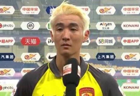 韦世豪:感谢塔利斯卡为我染发,老卡说不进球就剪我头发