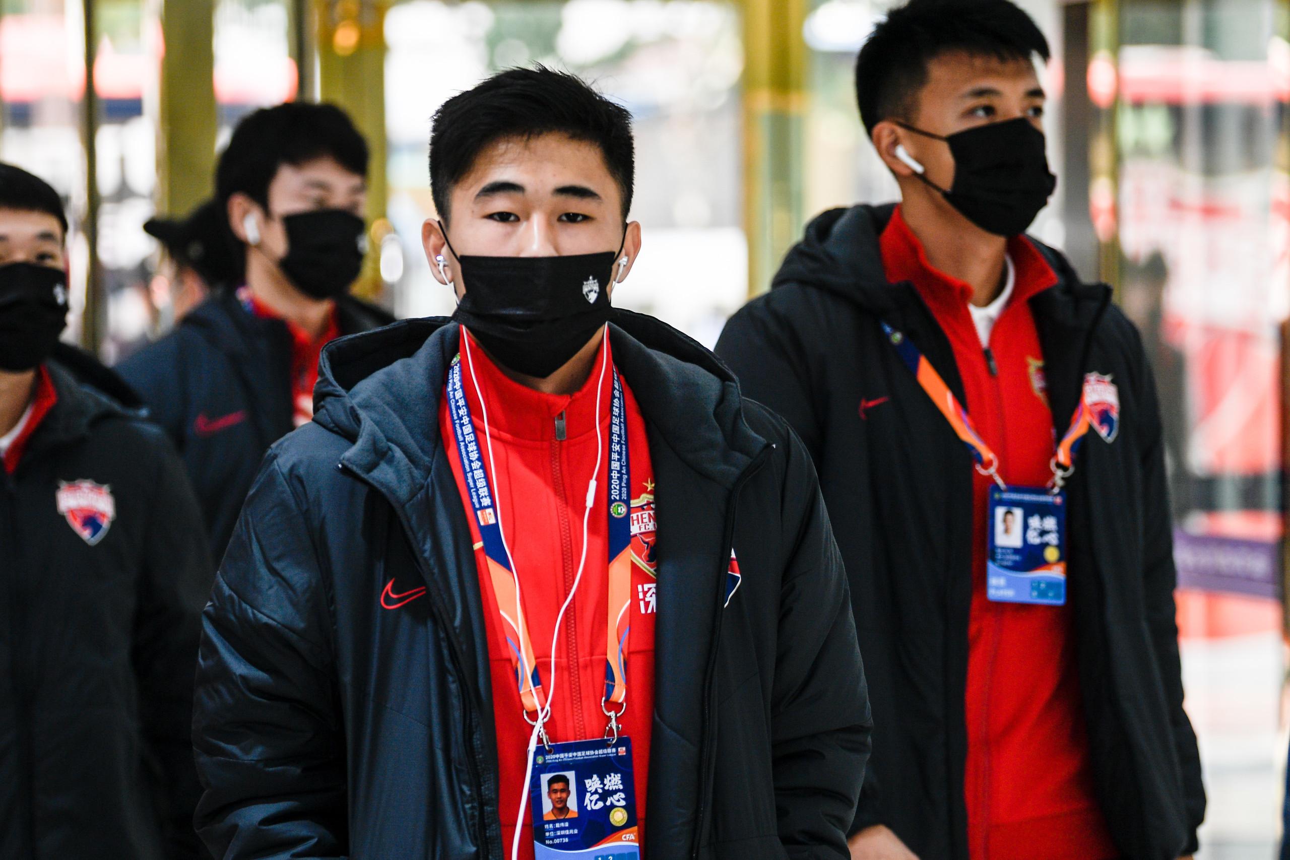 记者:戴伟浚缺战因右脚脚踝伤病,训练亦受伤势影响