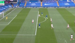 GIF:维尔纳利用个人能力先下一城,切尔西一球领先