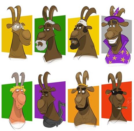 知名画师绘NBA历史亚愽电竞app巨星山羊头像:谁是你心中的GOAT?