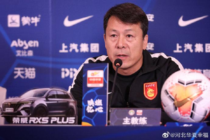 华夏幸福助教:谢峰一直与球队沟通,U23名额给