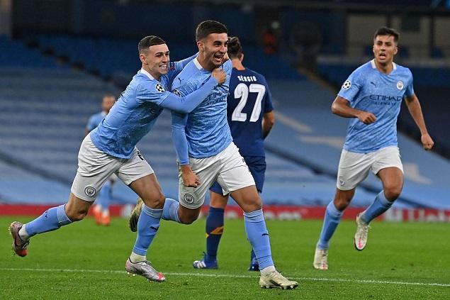 欧冠:阿圭罗京多安费兰托雷斯建功,曼城3-1逆转波尔图