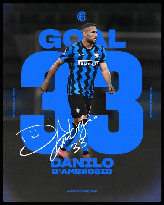 GIF:拉诺基亚助攻丹布罗西奥头球破门,国际米兰再下一城