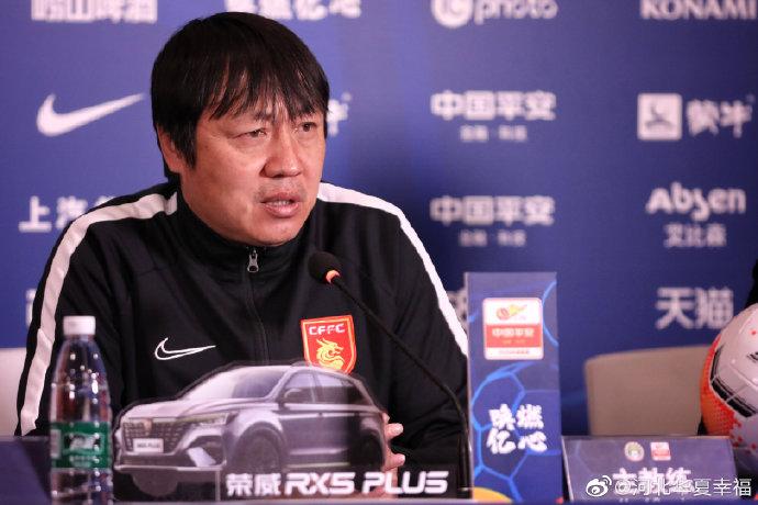 谢峰:将进行轮换,会给没有参加过中超的球员机会