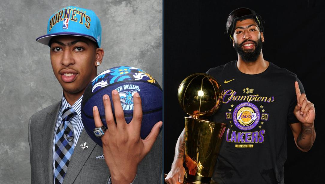 NBA晒AD组图为选秀大会预热:2012状元到2020总冠军