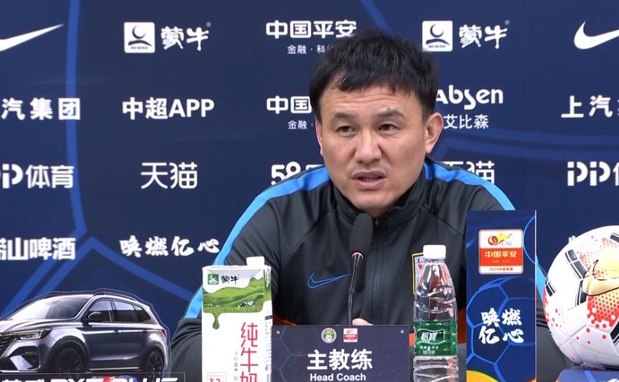 郝伟:我们的队员没有放弃,尊重这个行业坚持