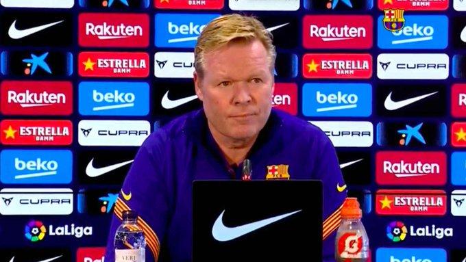 西班牙足协将调查科曼赛后言论,科曼恐遭受处罚