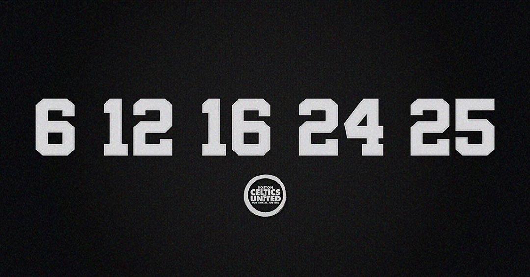 凯尔特人官方纪念NBA历史上首支全黑人组成的首发阵容