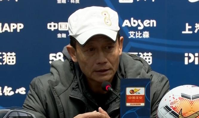 王宝山:2球落后时没什么可担心的,下半场防守做得不错