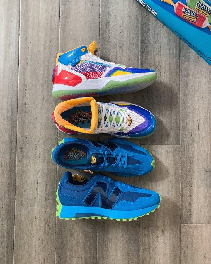 颜值如何?媒体晒伦纳德New Balance战靴全新配色