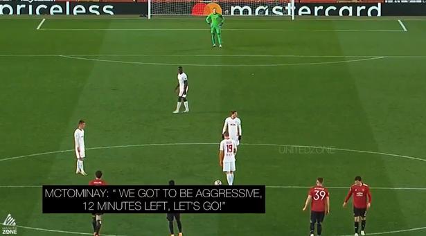 麦克托米奈比赛中喊话鼓励队友进球,获曼联球迷称赞