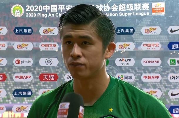 张玉宁:很遗憾没有为球迷带来胜利和晋级