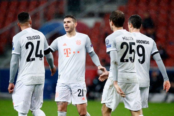 GIF:最后时刻卢卡斯抽射破门,拜仁大比分取胜