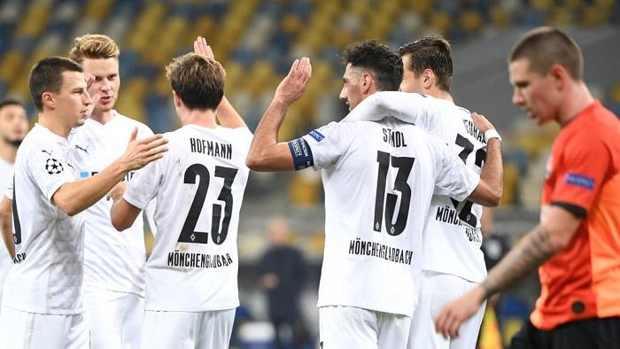 门兴和拜仁各进6球,欧冠首次同联赛球队总进球数12个