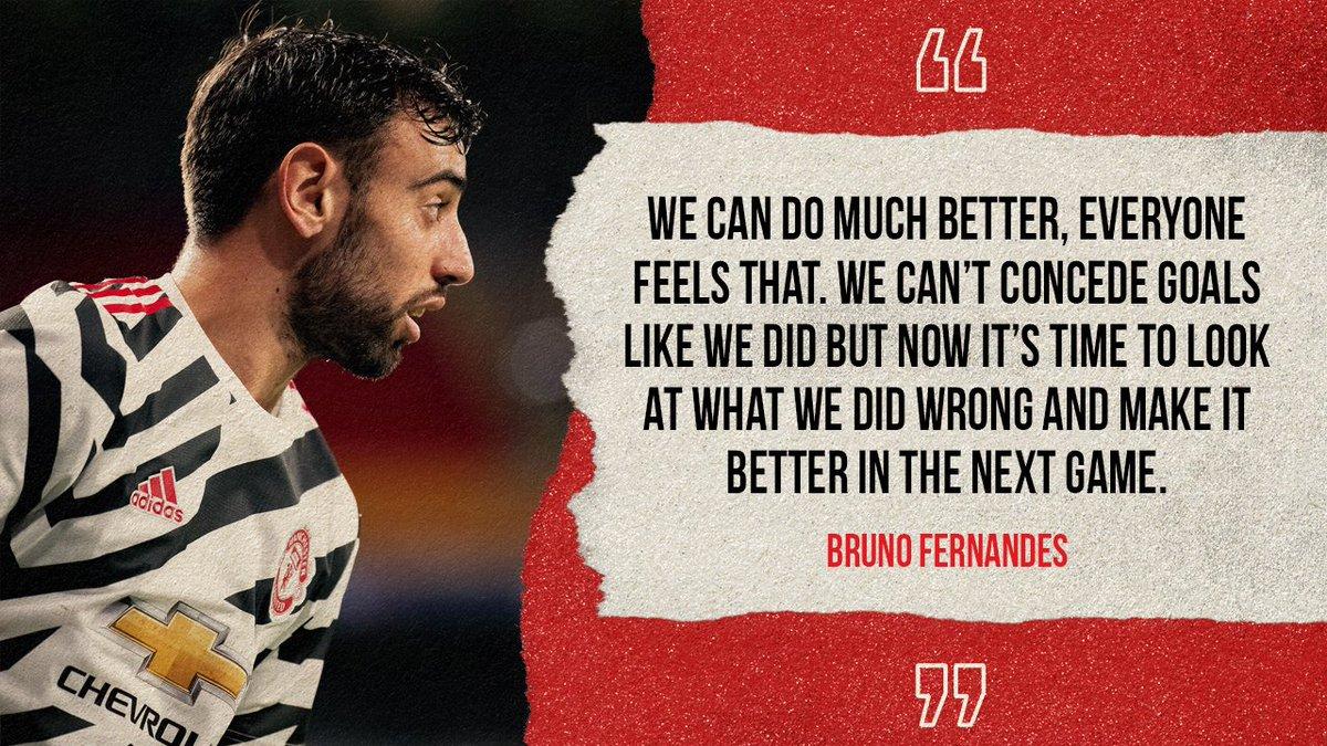 B费:曼联可以做得更好,不能像这样再丢球了