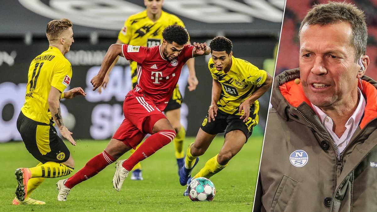 马特乌斯:拜仁众特本能够踢成7-6,这是德国足球的广告