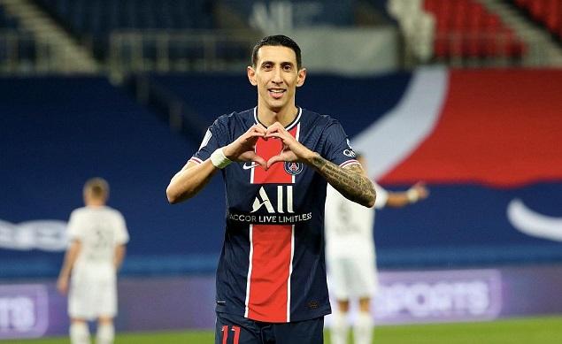 迪马利亚2射1传小基恩破门三人伤退,巴黎3-0雷恩