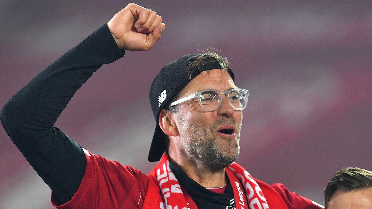 官方:德布劳内、克洛普分别当选西北足球最佳球员和教练