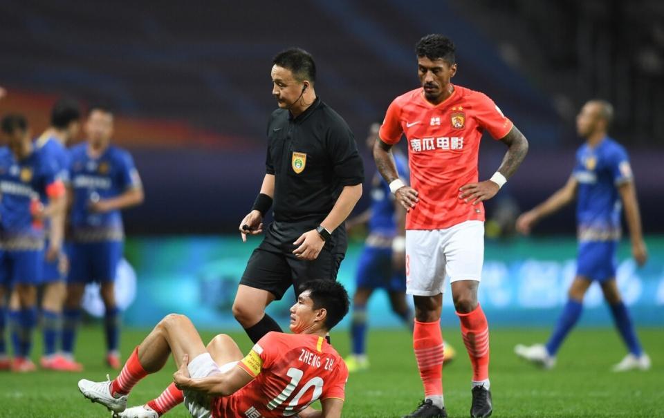 郑智不息缺席恒大训练,很大能够缺席与苏宁决赛次回相符