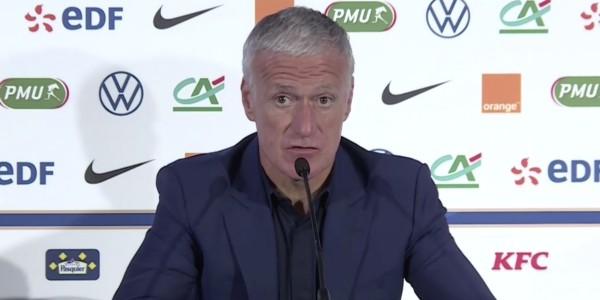 德尚:姆巴佩和帕瓦尔恢复得挺好,但不确定能踢葡萄牙