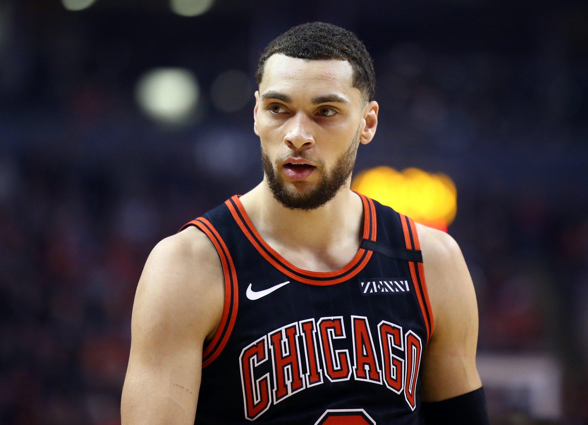一些NBA业内人士认为,公牛有可能将扎克-拉文摆上货架