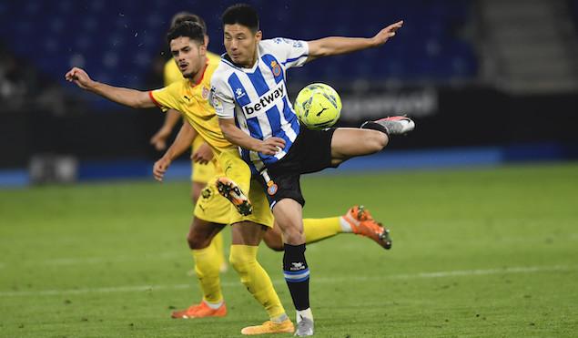 德托马斯破门武磊替补登场,西班牙人1-2遭赫罗纳逆转