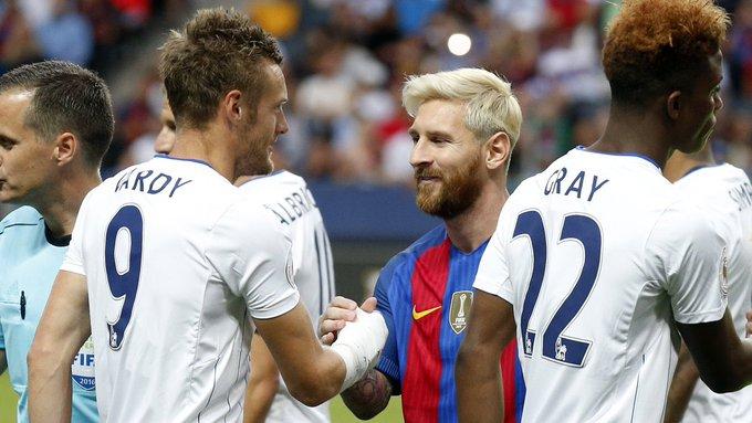 瓦尔迪:梅西是足坛最佳,看着他踢球真是太棒了