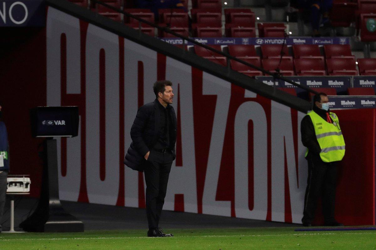 终于来了!西蒙尼取得西甲联赛中对巴萨的首胜