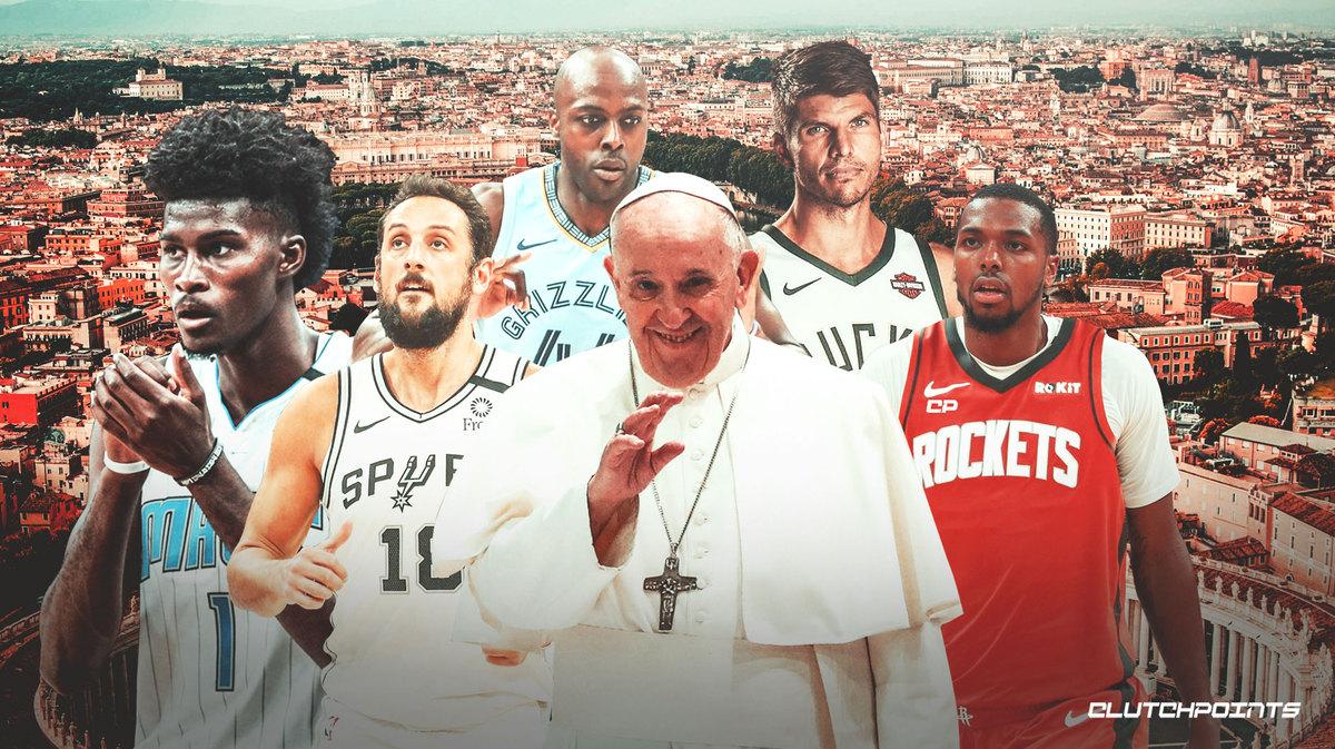Shams:教皇方济各将在梵蒂冈会见科沃尔等五位NBA球员