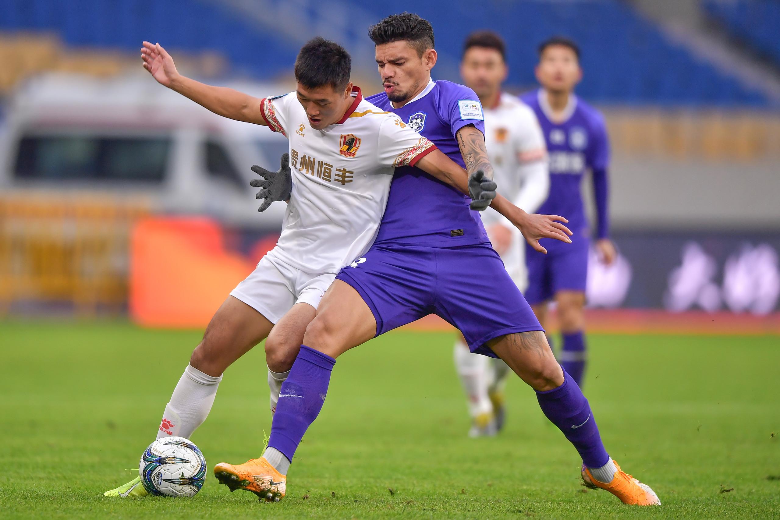 半场:苏亚雷斯、桂宏造威胁,泰达0-0恒丰