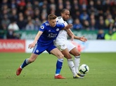 英超:卢克曼破门巴恩斯进球难救主,莱斯特城1-2富勒姆