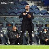自2015年来,瓜帅执教的球队首次在欧冠中与对手踢成0-0