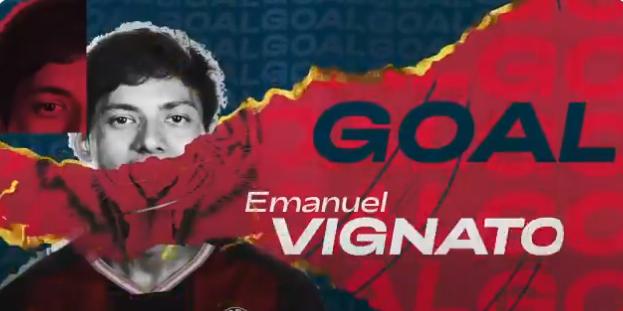 GIF:多明格斯助攻维尼亚托射门得分,博洛尼亚扳回一分
